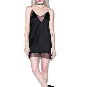 UNIF deep plunge dress set